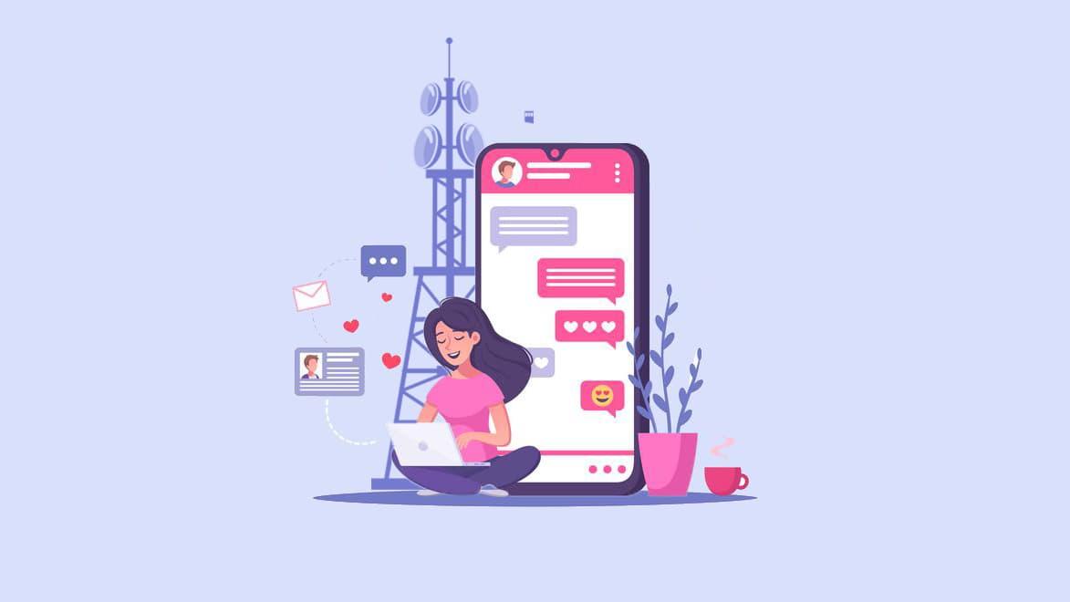 ارسال پیامک به دکل های مخابراتی (BTS)