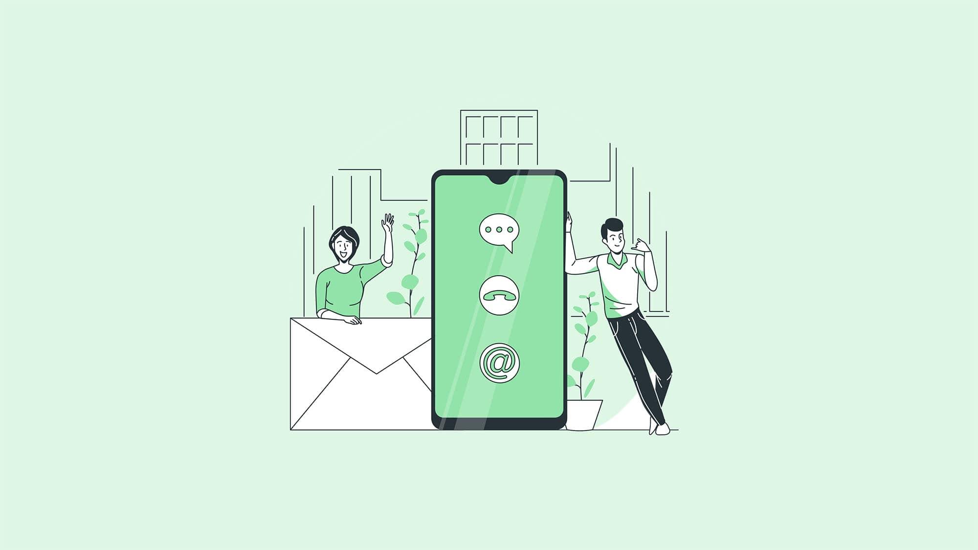 ارسال پیامک به مخاطبین گوشی